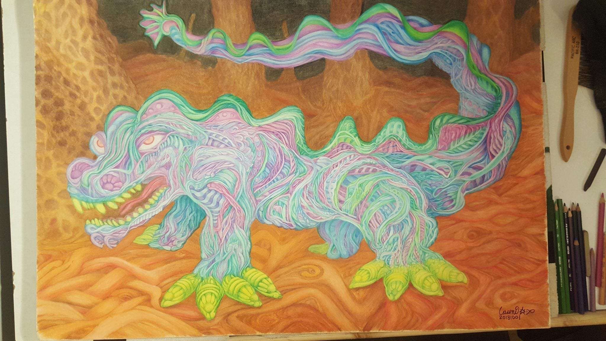 Sea Weed Dragon